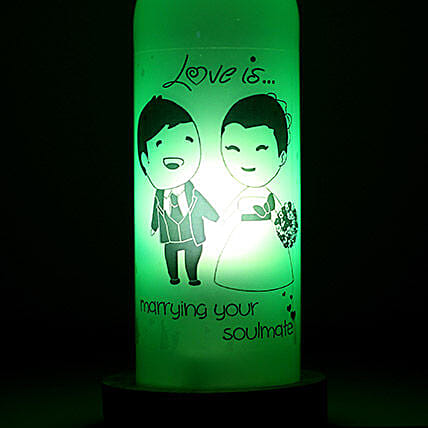 Marrying Your Soulmate Lamp: Bottle Lamps