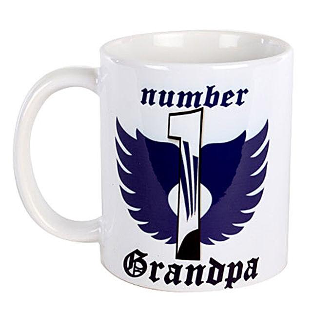 Number 1 Grandpa Mug: