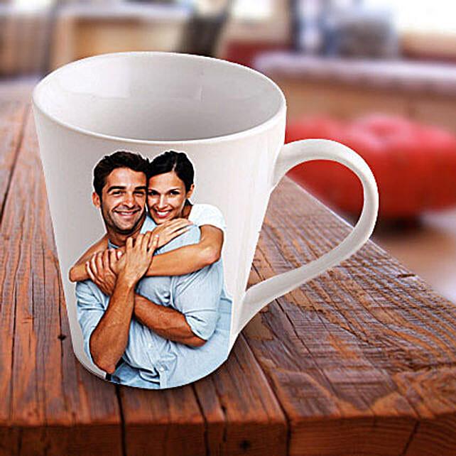Personalized Ceramic Photo Mug: Personalised Mugs Delhi