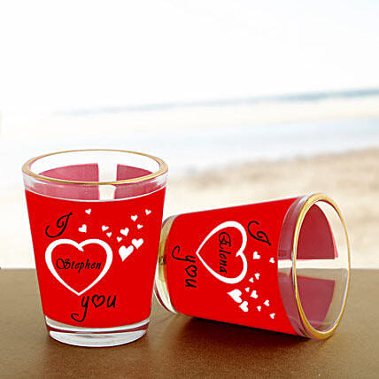 Personalized Couple Shot Glass: Send Unique Gifts