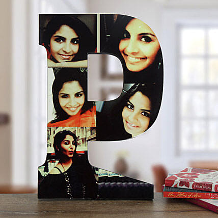 Personalized P Table Top: Gifts to Shahjahanpur
