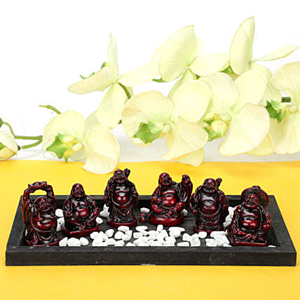 Platter Full Buddhas: Handicrafts for House Warming