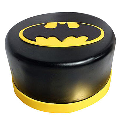 Shining Batman Cream Cake: Send Gifts to Kulti