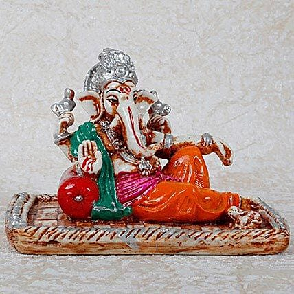 Sleeping Ganesha Idol: Send Spiritual Gifts