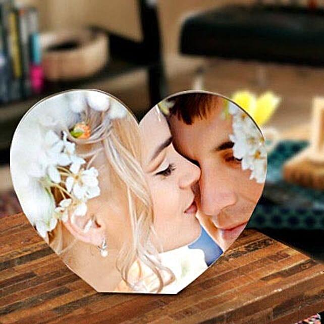 True Love Personalize Frame: Anniversary Photo Frames