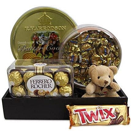 Twix Choco Hamper: Ferrero Rocher Chocolates
