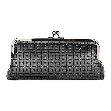 Wonderful Lino Perros Black Women Clutch: Fashion Accessories