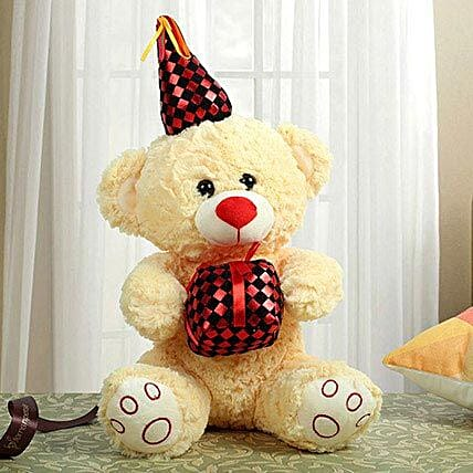 Yellow Bear With Red Gift: Kids Toys & Games