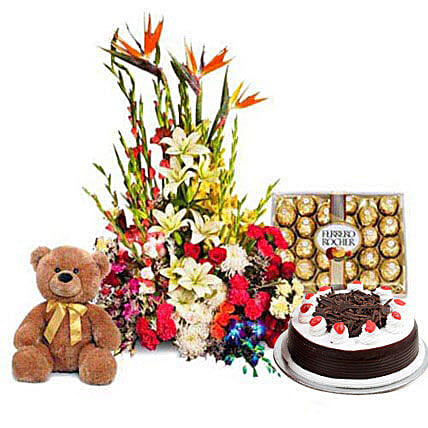You Deserve the Best: Cakes N Teddy Bears