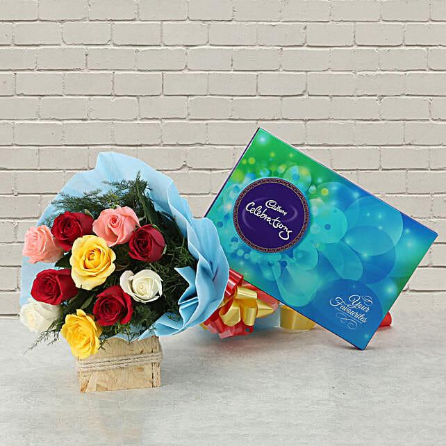 Celebrations with Roses: Cadbury Chocolates