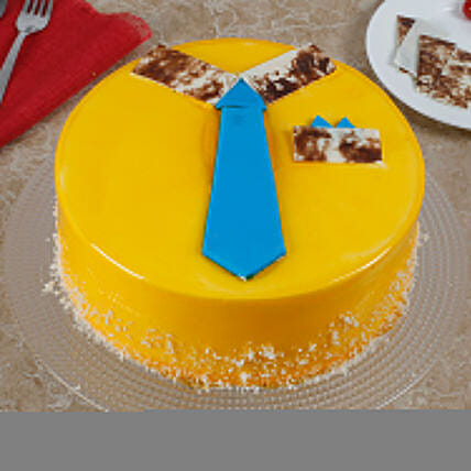 Funky And Delicious Mango Cake For Dad: Send Mango Cakes to Ghaziabad