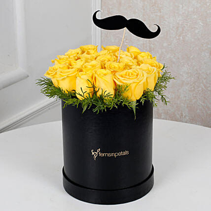 Cheerful Yellow Roses For Him: Anniversary Gifts for Husband