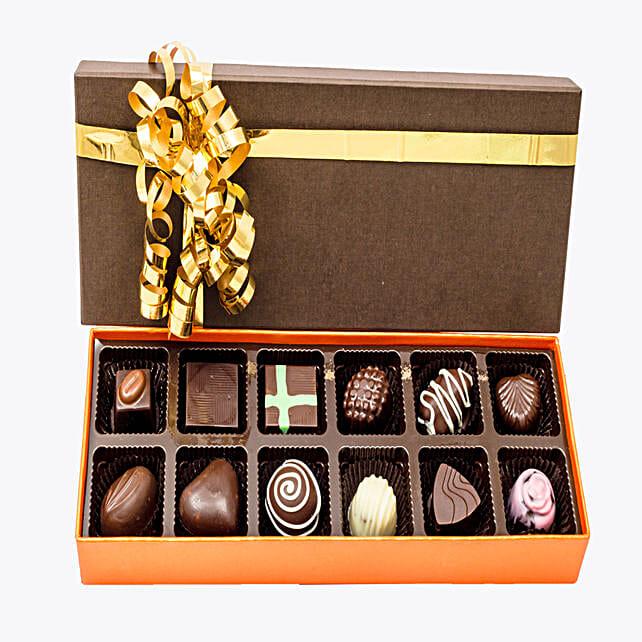 Assorted Chocolates 12: Homemade Chocolate Gifts