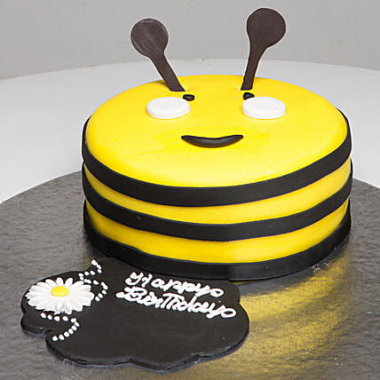 Bumblebee Birthday Cake: Send Mango Cakes to Ghaziabad