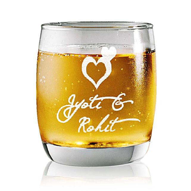 Personalised Set Of 2 Whiskey Glasses 2371: