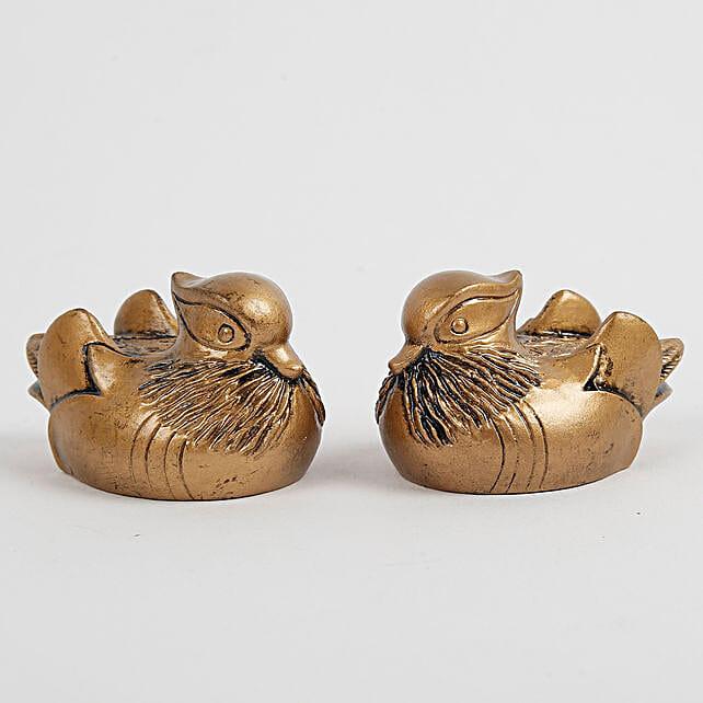 Feng Shui Mandarin Ducks For Love: Show Pieces