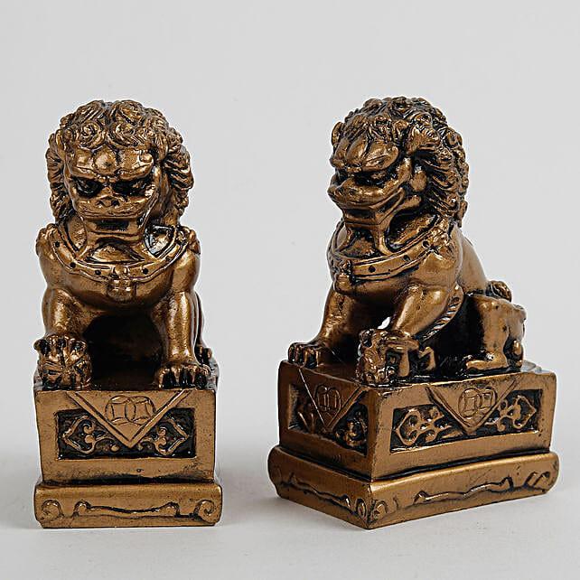 The Fu Dogs Feng Shui Statue: Feng Shui Gifts