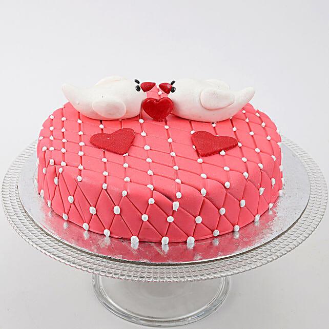 Kissing Birds Cake: Designer Cakes for Wedding