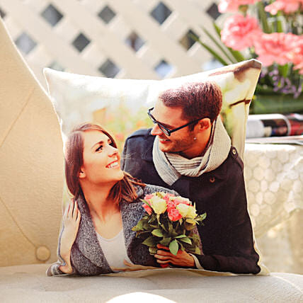 Personalised Romantic Cushion: Personalised Cushions