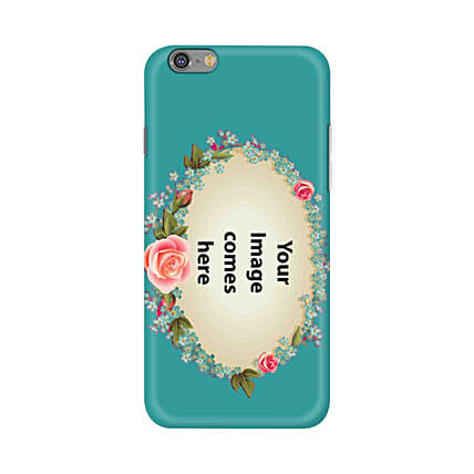 Apple iPhone 6 & 6S Customised Floral Mobile Case: Personalised Apple Mobile Covers