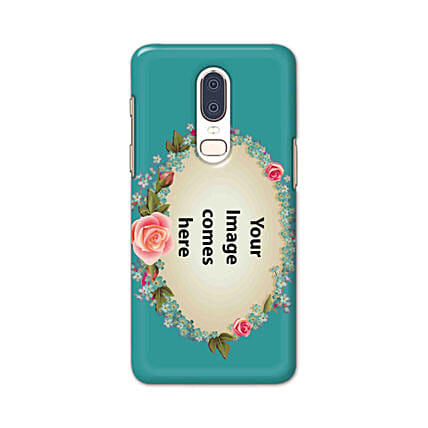 One Plus 6 Customised Floral Mobile Case:
