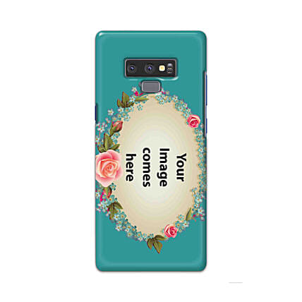 Samsung Galaxy Note 9 Customised Floral Mobile Case: Personalised Mobile Covers