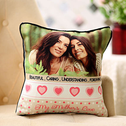 Personalized Feel Special Cushion: Mothers Day Gifts to Aurangabad