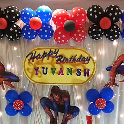 Theme Party Decors: Birthday Gifts for Kids