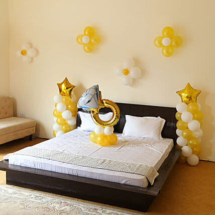 Propose In Style Balloon Decor: Anniversary Decoration Services