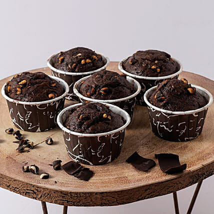 Yummy Oreo Chocolate Muffin- 500 gms: Send Cup Cakes