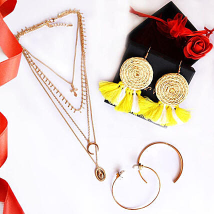 Gold & Yellow Love Stack: Fashion Accessories