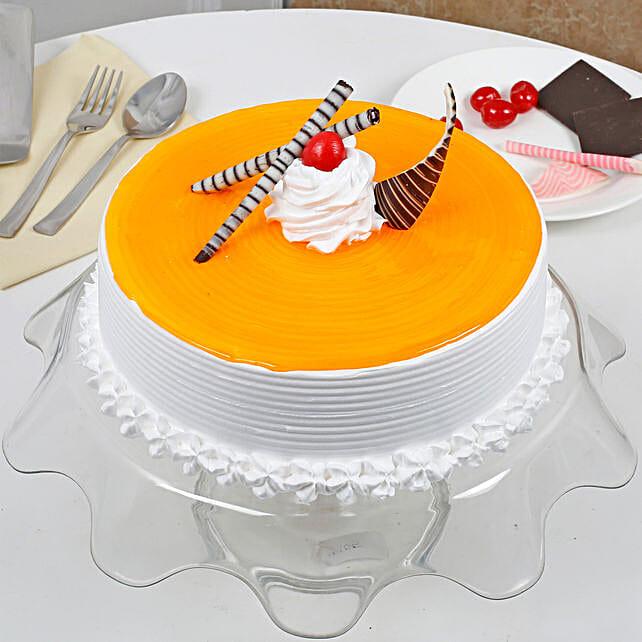 Yummy Mango Cream Cake: Send Mango Cakes