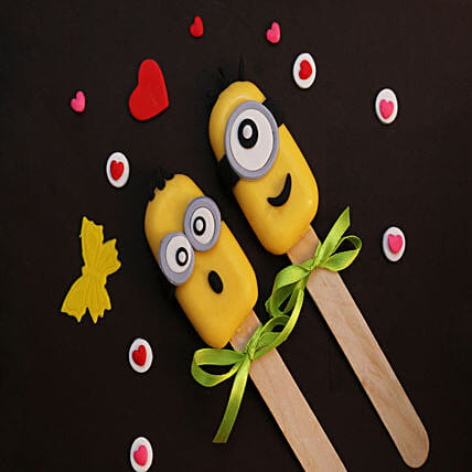 Minions Special Set of 2 Cakesicles: Cakesicles