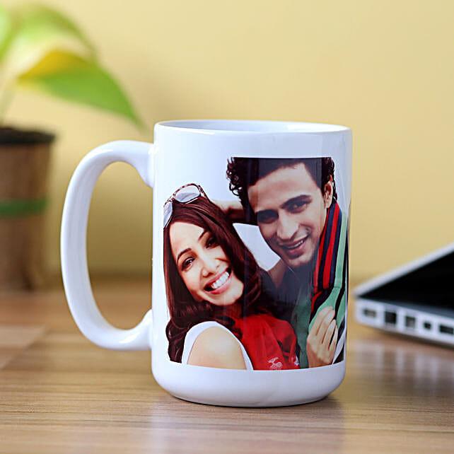 Personalised Stunning White Mug: Personalised Mugs