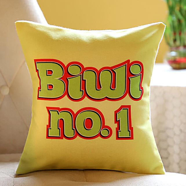 Yellow Cushion For Biwi No. 1: Cushions