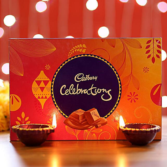 Cadbury Celebrations Box & Diyas: Cadbury Chocolates