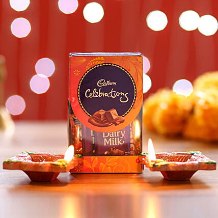 Cadbury Celebrations Pack & Diyas: Cadbury Chocolates
