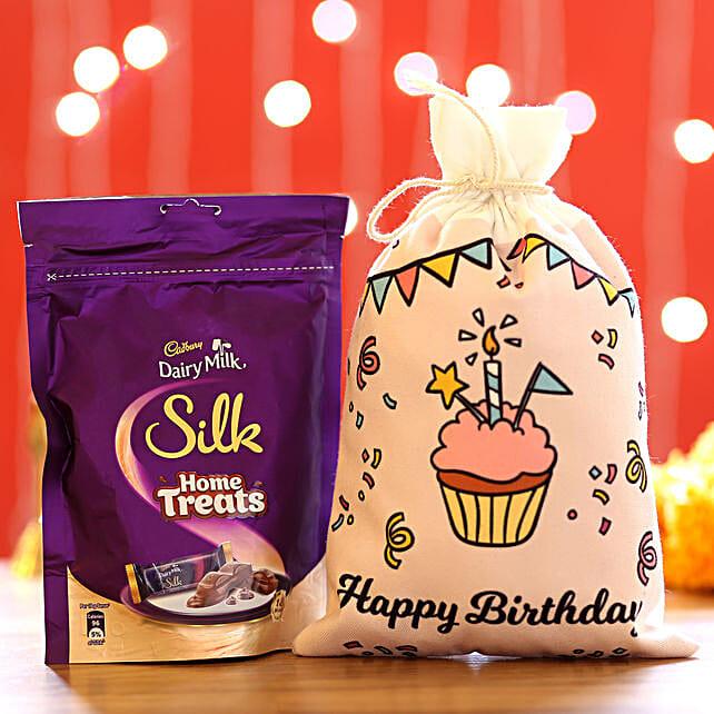 Silk Home Treats & Birthday Gunny Bags: