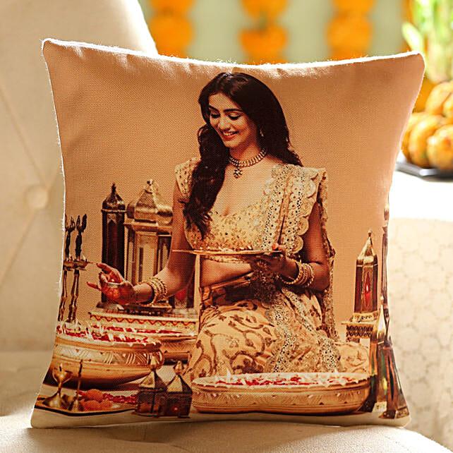 Personalised Festive Cushion: