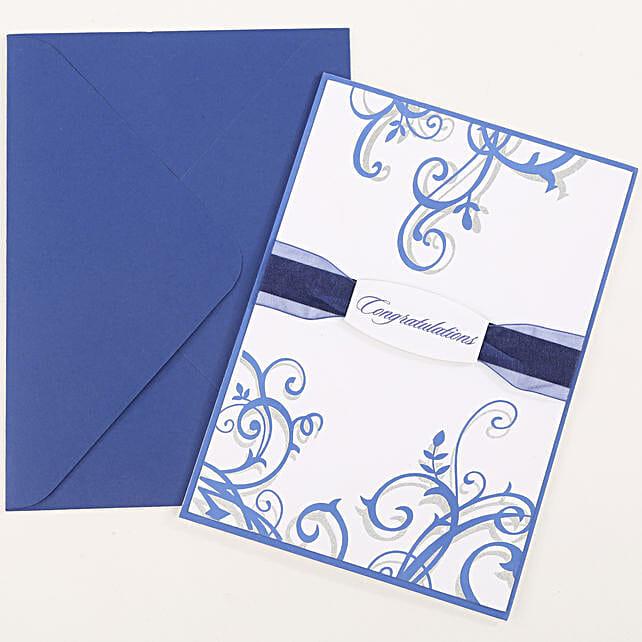 Congratulations Ribbon Greeting Card: Just Because