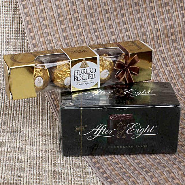 Mint Chocolate & Ferrero Rocher: Chocolate Gifts in India