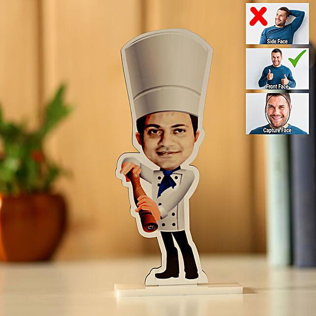 Personalised Chef Caricature: Send Caricatures