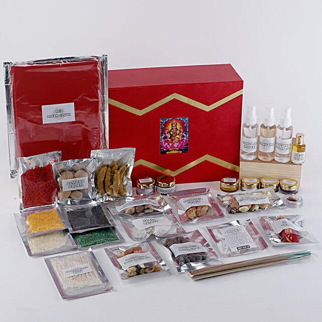 Margashirsha Lakshmi Puja Box: Pooja Samagri Boxes