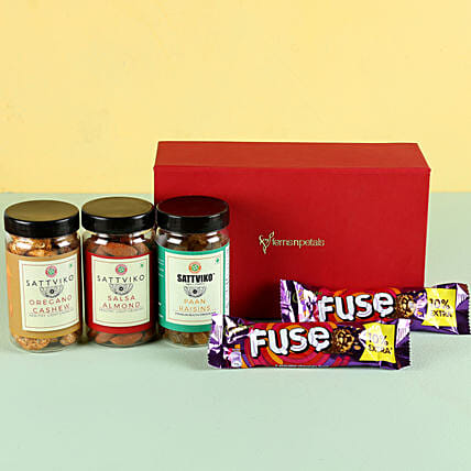 Flavoured Dry Fruits & Chocolates: Best Gifts to India