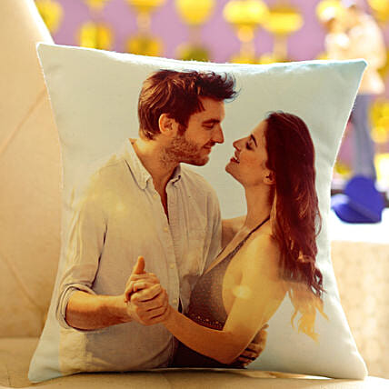 Personalized Cushion Gift: Anniversary Gifts Nagpur