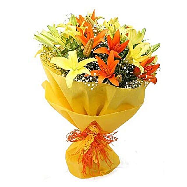 send flower bouquet for anniversary online ferns n petals