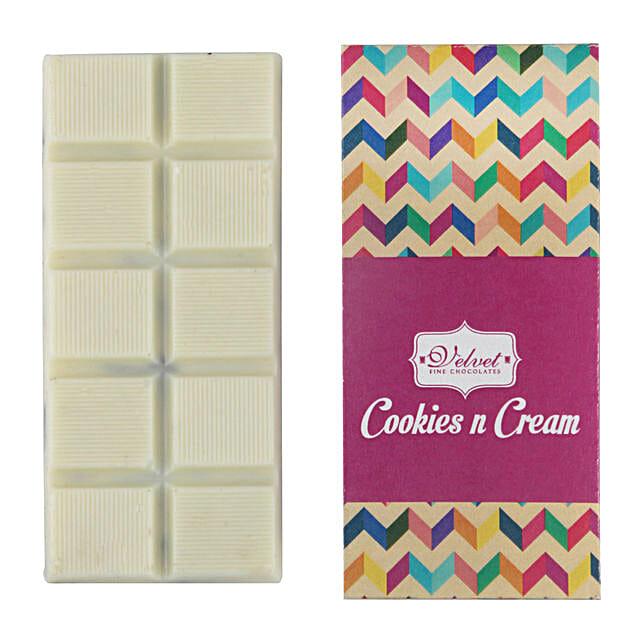 White Chocolate Bar Oreo Special: Holi Chocolates