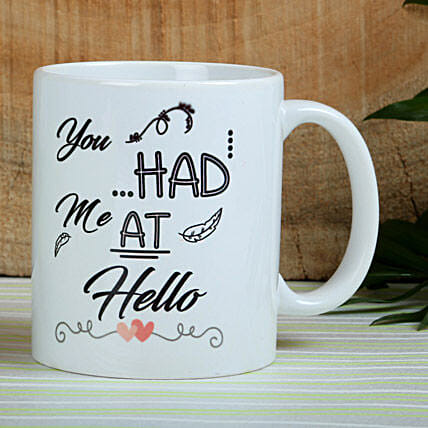 You Had Me At Hello: Valentines Day Mugs