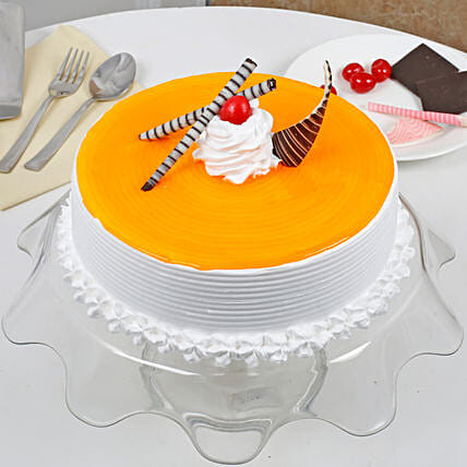 Yummy Mango Cream Cake: Easter Gifts