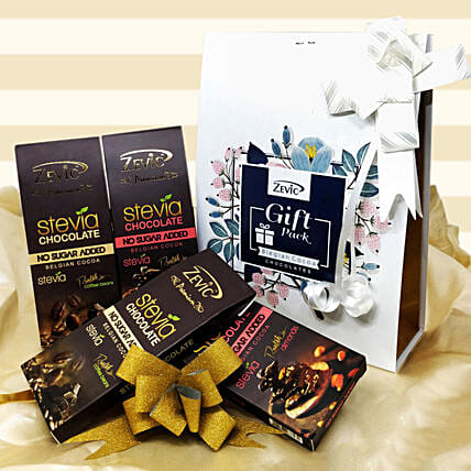 Zevic Dark Chocolate Gift Pack: Send Gifts for Onam
